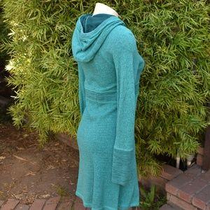 Prana Dresses - WOMEN'S PRANA HOODIE DRESS FRENCH TERRY SZ SM